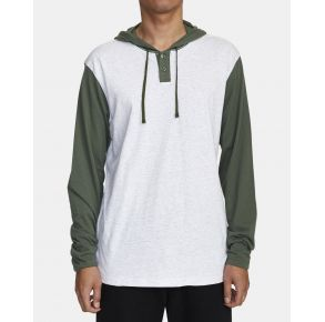 RVCA Mens Pick Up II Hoodie Front View