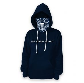 Coast Guard - Adult - Mask - Hoodie Gaiter - See Ya Front View