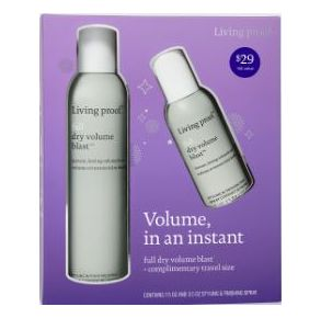 Living proof Full Dry Volume Blast Holiday Set Front View
