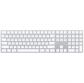 Apple Magic Keyboard with Numeric Keypad - Silver Front View