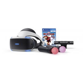 Sony PlayStation VR - Marvel's Iron Man VR Bundle Front View