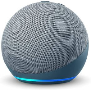 Amazon Echo Dot 4th Gen Smart Speaker with Alexa - Twilight Blue Front View