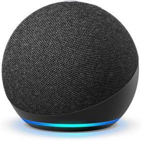 Amazon Echo Dot 4th Gen Smart Speaker with Alexa - Charcoal Front View