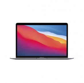 Apple MacBook Air 13.3-inch Laptop with Touch ID Space Gray Front View