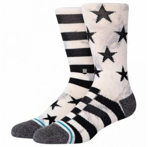 Stance Mens Sidereal 2 Crew Socks Pair Side View
