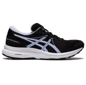ASICS Womens GEL-CONTEND 7 Running Shoe Black/Lilac Opal Right Side View