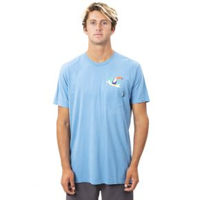 Rip Curl Mens Toucan Man Heritage Tee Front View