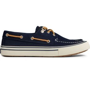 Sperry Mens Bahama Storm 3-Eye Sneaker Navy Right Side View