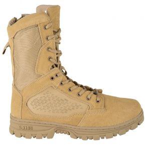 """5.11 Mens Evo 8"""" Desert Side Zip Boot Right Side View"""