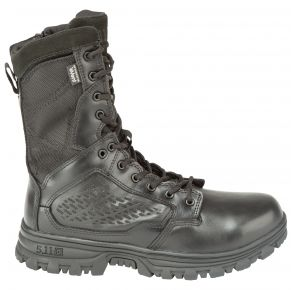 "5.11 Mens Evo 8"" Waterproof Boot With Side Zip Right Side View"
