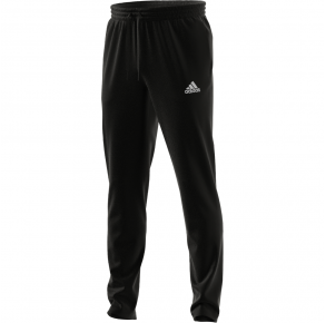 adidas Mens Essentials Tapered Pants Black Front View