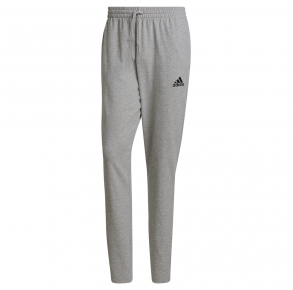 adidas Mens Essentials Tapered Pants Medium Gray Heather Front View