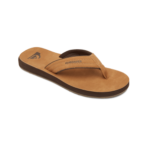 Quicksilver Mens Carver Nubuck Flip-Flop Sandal Right Side View