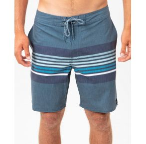 """Rip Curl Mens Lineup 19"""" Layday Boardshorts Washed Navy Front View"""