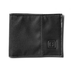 5.11 Phantom Bifold Wallet - Black Front View