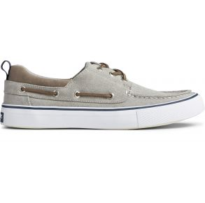 Sperry Mens Bahama 3-Eye Saltwater Canvas Sneaker Right Side View