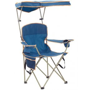 Shelterlogic Max Shade Chair - Navy Side View