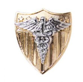 Vanguard Coast Guard Breast Badge Nurse Practitioner - Regular Size  Front View