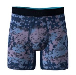 Stance Mens Wholester Boxer Brief - Blue Sunshine Front View