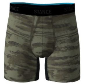 Stance Mens Boxer Brief - Ramp Camo Front View