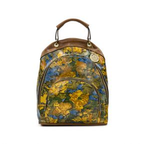 Patricia Nash Alencon Backpack - Wildflower Front View