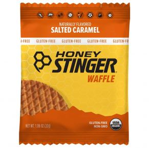 HONEY STINGER Waffle - Salted Caramel Front View