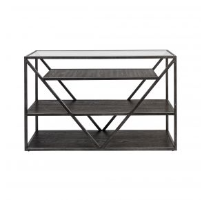Liberty Furniture Industries, Inc. Arista Sofa Table - Medium Gray Front View
