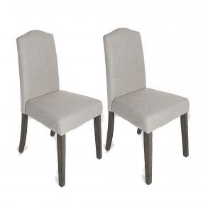 Liberty Furniture Industries, Inc. Carolina Lakes Upholstered Side Chair - RTA - Set of 2 - Tan Pair View