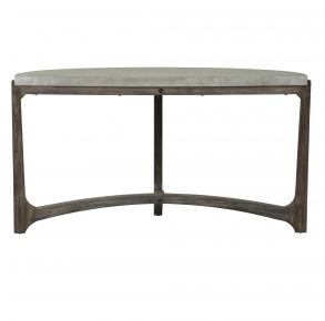 Liberty Furniture Industries, Inc. Cascade Sofa Table - Dark Brown Front View
