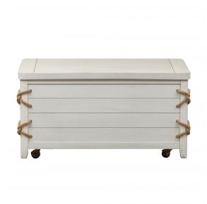 Liberty Furniture Industries, Inc. Dockside II Storage Trunk - White Front View