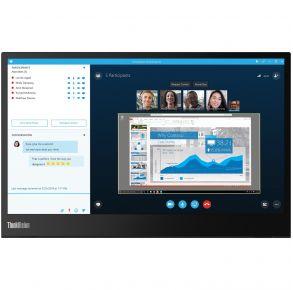 "Lenovo 14"" ThinkVision M14 Portable Monitor Front View"