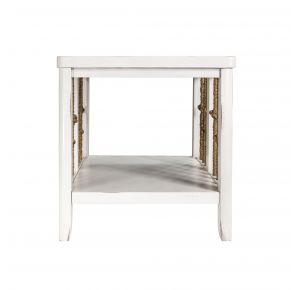 Liberty Furniture Industries, Inc. Dockside II End Table - White Front View