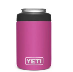 YETI Rambler 12 oz. Colster Can Insulator - Prickly Pear Pink Front View