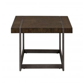 Liberty Furniture Industries, Inc. Sorrento Valley Cocktail Table - Medium Brown Front View