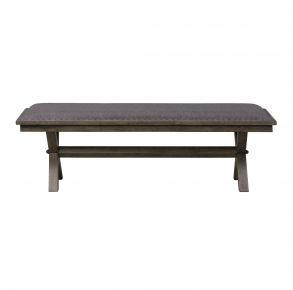 Liberty Furniture Industries, Inc. Sonoma Road Bench - RTA - Light Brown Front View