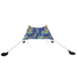 Neso 1 - Prints Tent - Tropical Floral Front View