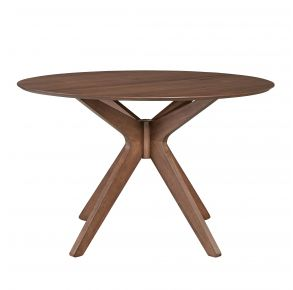 Liberty Furniture Industries, Inc. Space Savers Round Pedestal Table - Medium Brown Front View