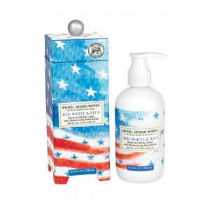 Michel Design Works Red, White & Blue Lotion Front View