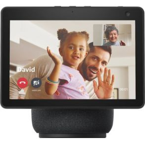 Amazon Echo Show 10 (3rd Gen) HD Smart Display with Motion and Alexa - Black Front View