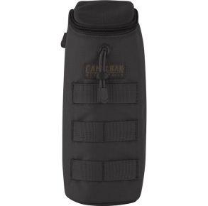 CAMELBAK Max Gear Bottle Pouch - Black Front View