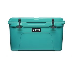 YETI Tundra 45 Hard Cooler - Aquifer Blue Front View