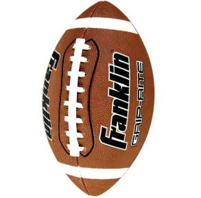 Franklin Grip-Rite Junior Official Size Football Front View