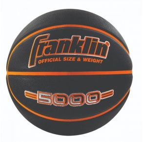"""Franklin 5000 Black Basketball - Men'S Official 29.5"""" Front View"""