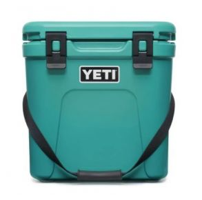YETI Roadie 24 Hard Cooler - Aquifer Blue Front View
