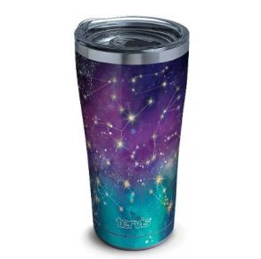 tervis Stainless Steel Tumbler With Slider Lid - 20 oz. - Zodiac Galaxy Front View