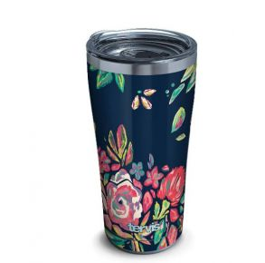 Tervis Live Bold Bouquet Stainless Steel Tumbler with Slider Lid - 20 oz. Front View