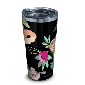 Tervis Brilliant Buds Stainless Steel Tumbler with Slider Lid - 20 oz. Front View