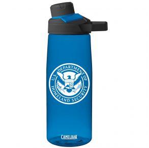 DHS CAMELBAK Chute Bottle - Blue Front View
