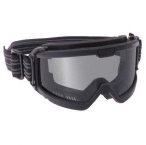 Rothco ANSI Ballistic OTG Goggles - Black/Smoke Angle View