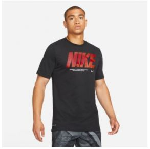 Nike Mens Dri-FIT Graphic Training Short Sleeve T-Shirt Front View